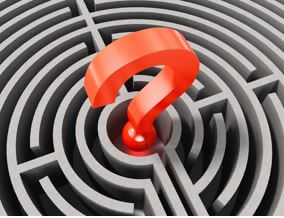 image of a maze with question mark in middle - reduce diagnostic errors
