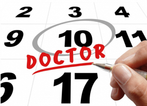image calendar with doctor appointment circled - Is it Time for a New Doctor?