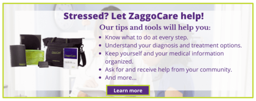 ZaggoCare can help stressed patients and family caregivers