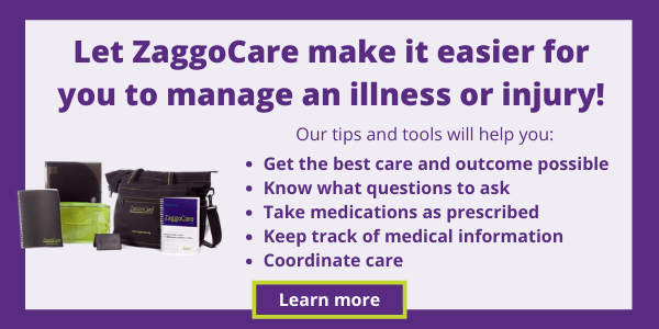 ZaggoCare makes it easier to manage an illness or injury